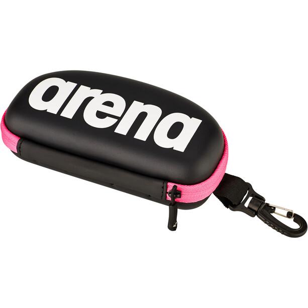 arena Goggle Case, noir/rose
