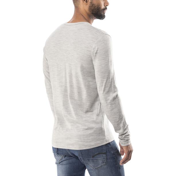 Bergans Henley Wool T-shirt Homme, gris
