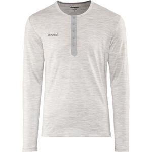 Bergans Henley Wool T-shirt Homme, gris gris