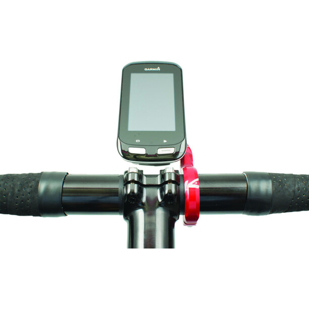 K-EDGE Garmin Pro XL Combo Handlebar Mount red