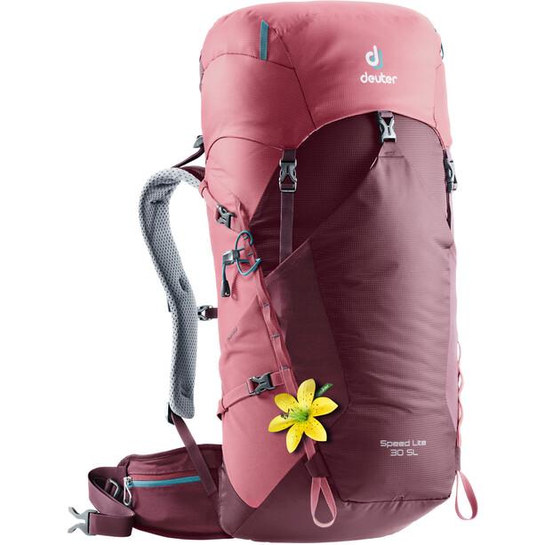 Deuter Speed Lite 30 SL Backpack Dam maron-cardinal