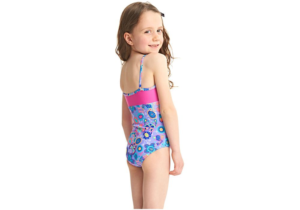 Zoggs wild classicback costume da bagno bambino rosa blu - Costume da bagno bambino ...
