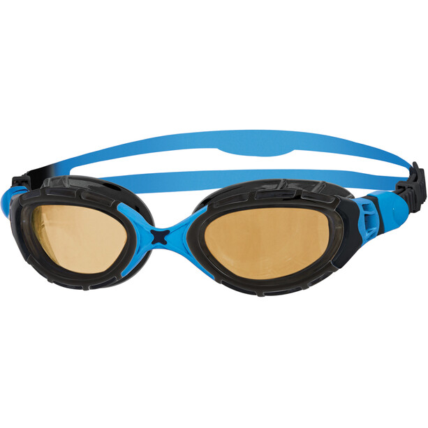 Zoggs Predator Flex Brille Polarisiert Ultra black/blue/copper