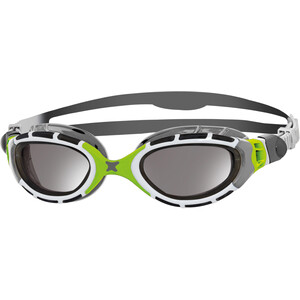 Zoggs Predator Flex Goggles Titanium grey/green/mirror grey/green/mirror