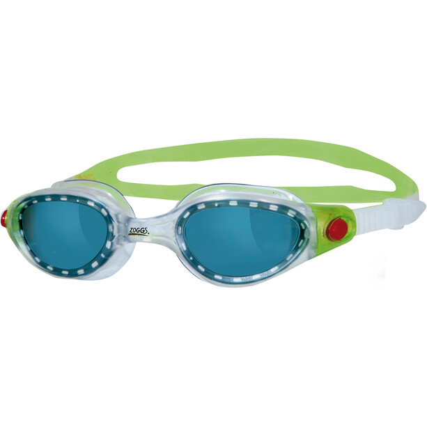 Zoggs Phantom Elite Goggles Kinder green/red/tint