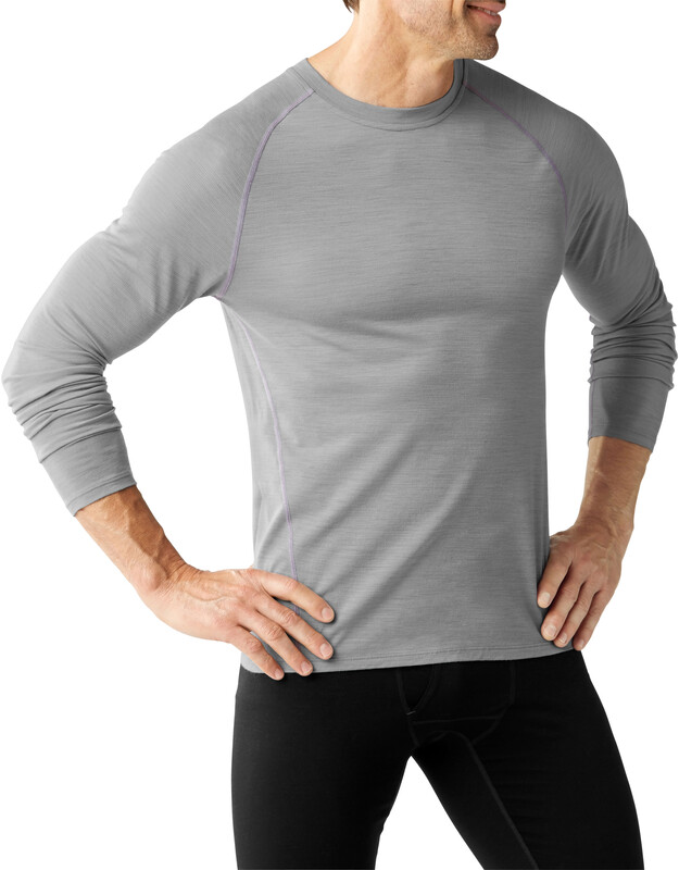 Smartwool Merino 150 Baselayer Pattern Long Sleeve Men Light Gray XL 2018 Unterhemden