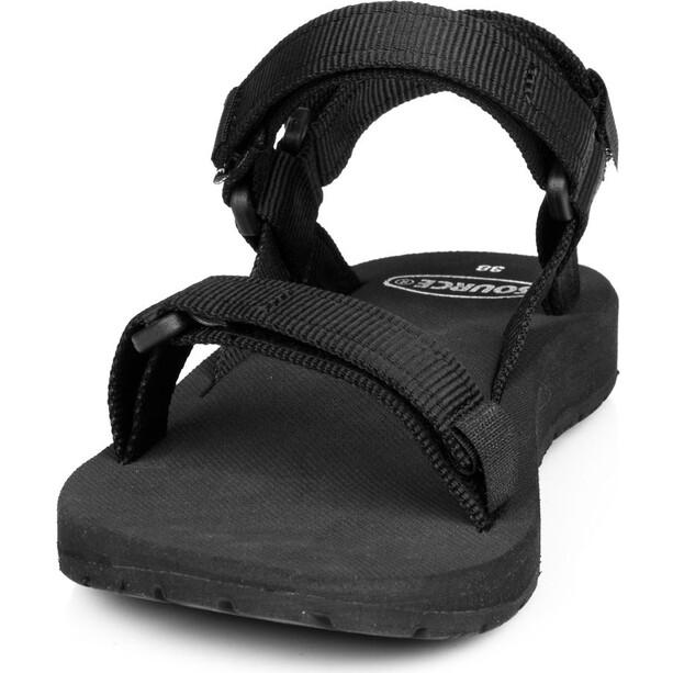 SOURCE Classic Sandalen Damen schwarz