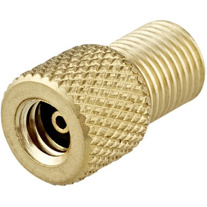 XLC Schraub-/Übergangsventiladapter von AV Pumpe auf Dunlopventil