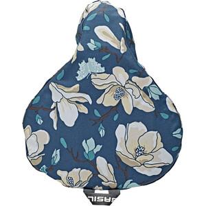 Basil Magnolia Housse de selle, Multicolore/bleu Multicolore/bleu