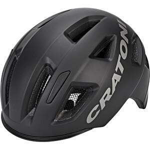 Cratoni C-Pure Fahrradhelm schwarz schwarz