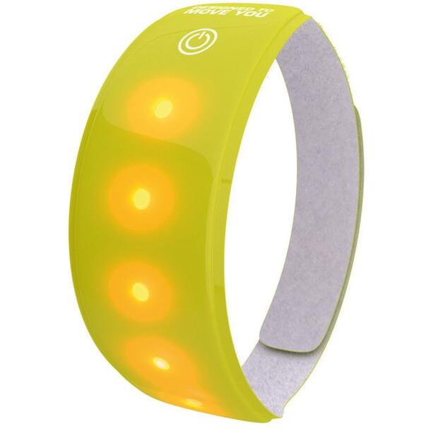 Wowow Lichtband 5 LED 3M mit Klettverschluss gelb