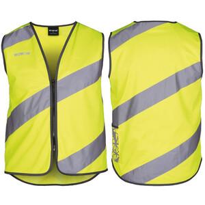 Wowow Roadie Sicherheitsweste mit Reißverschluss gelb/silber gelb/silber