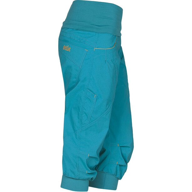 Ocun Noya Shorts Damen blue/yellow