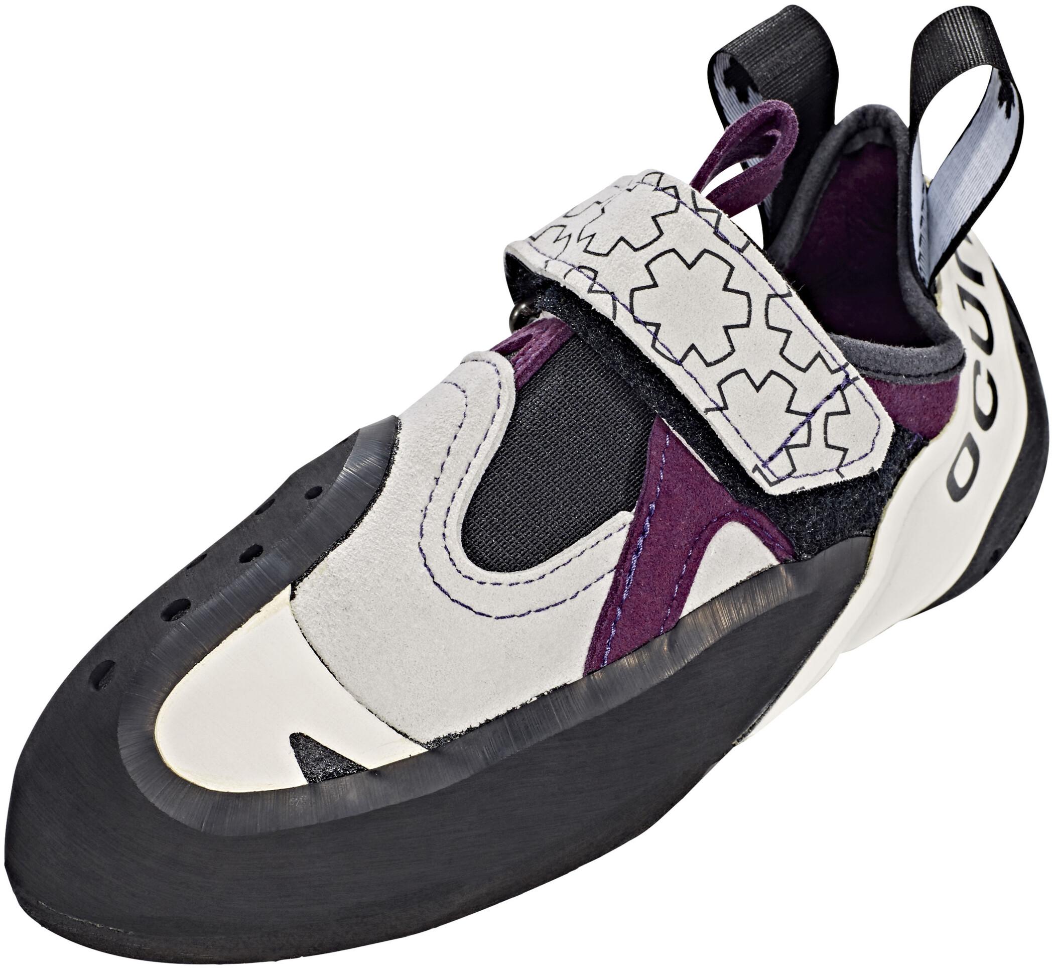 Ocun OXI Weiß-Lila/Violett, Damen Kletterschuh, Größe EU 37 - Farbe White-Purple Damen Kletterschuh, White - Purple, Größe 37 - Weiß-Lila/Violett