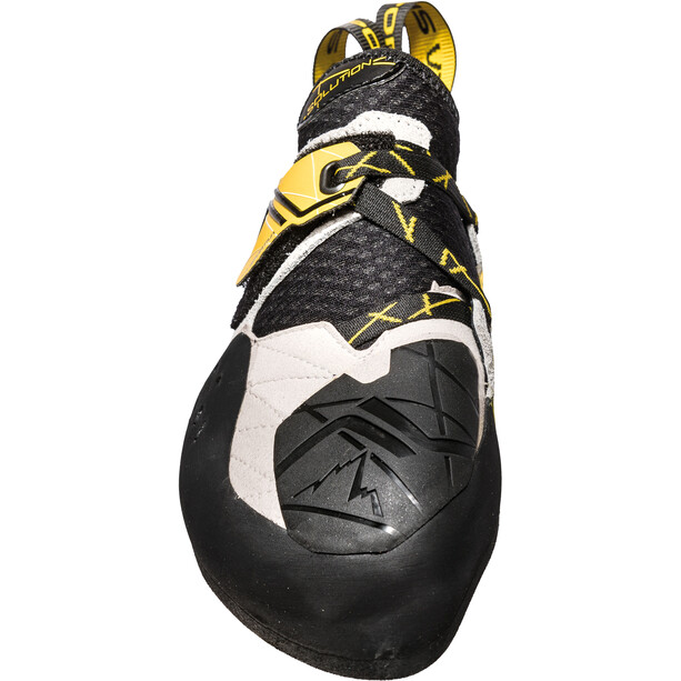 La Sportiva Solution Kletterschuhe Herren white/yellow