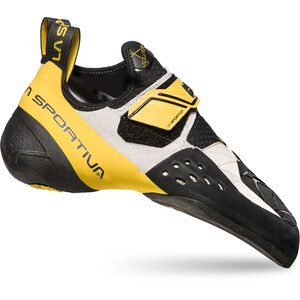 La Sportiva Solution Kletterschuhe Herren white/yellow white/yellow