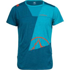 La Sportiva Workout T-Shirt Herren lake/tropic blue lake/tropic blue