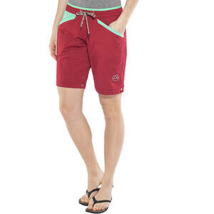 La Sportiva Nirvana Shorts Damen berry/mint berry/mint