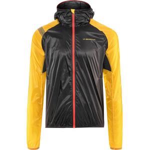 La Sportiva Blizzard Windbreaker Veste Homme, noir/jaune noir/jaune