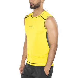 La Sportiva Rocket Tank Top Herren yellow/carbon yellow/carbon
