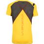 La Sportiva Blitz T-Shirt Herren yellow/carbon