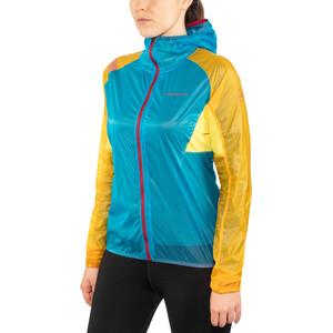 La Sportiva Briza Windbreaker Jacke Damen malibu blue/yellow malibu blue/yellow