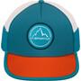 La Sportiva Trail Trucker Cap lake/tangerine