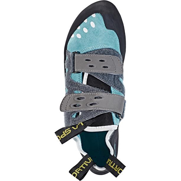 La Sportiva Tarantula Climbing Shoes Dam turquoise