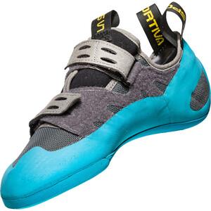 La Sportiva Geckogym Climbing Shoes Herr carbon/tropic blue carbon/tropic blue
