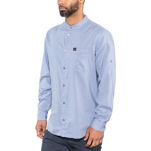 Jack Wolfskin Indian Springs Shirt Herren dusk blue stripes dusk blue stripes