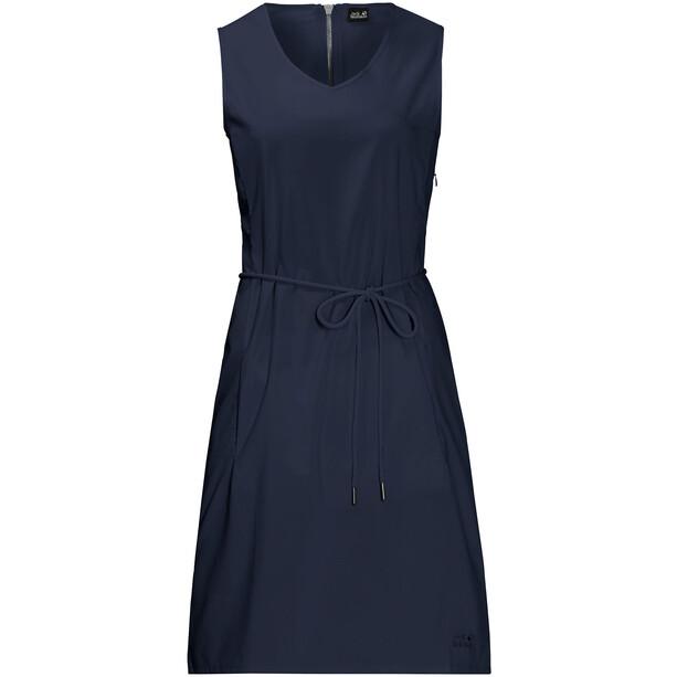 Jack Wolfskin Tioga Road Dress Damen midnight blue