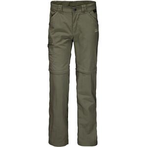 Jack Wolfskin Safari Zip-Off Pants Kids woodland green woodland green