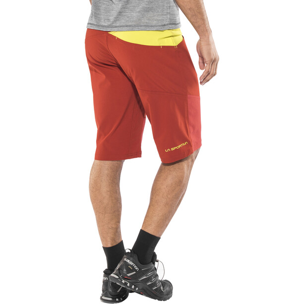 La Sportiva TX Shorts Herr brick/sulphur