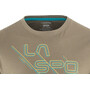 La Sportiva Sliced Logo T-shirt Herr falcon brown