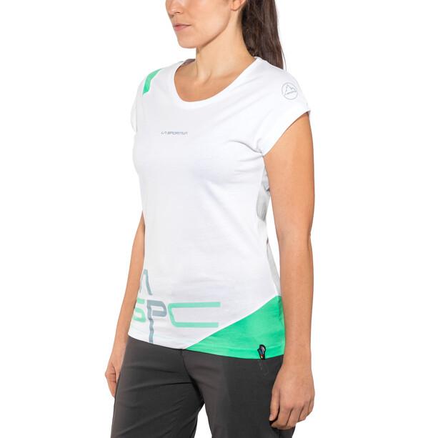 La Sportiva Shortener T-shirt Dam white