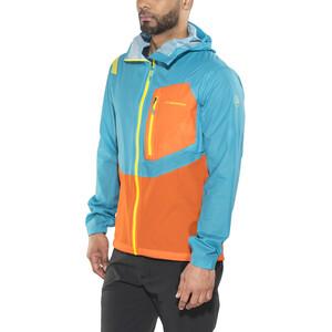 La Sportiva Hail Jacket Herr tropic blue/lava tropic blue/lava
