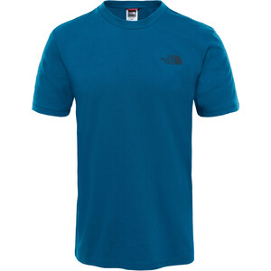 The North Face Simple Dome S/S Tee Herr blue coral blue coral