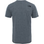 The North Face Simple Dome S/S Tee Herr tnf medium grey heather