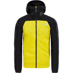 The North Face Summit L3 Ventrix Hybrid Hoodie Herr canary yellow/tnf black canary yellow/tnf black