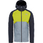 The North Face Stratos Jacket Herr asphalt grey/citronelle green/mid grey