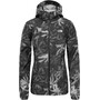 tnf black exploded lupine print