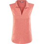 The North Face Inlux S/L Top Dam fire brick red heather
