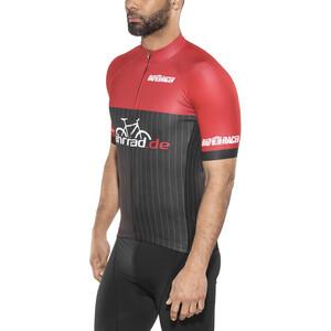 fahrrad.de Pro Race Trikot Herren black-red black-red