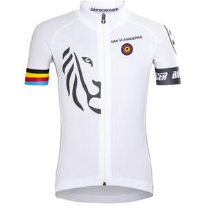 Bioracer Van Vlaanderen Pro Race Trikot Kinder weiß weiß