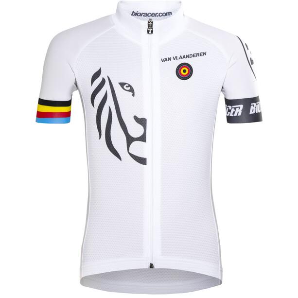 Bioracer Van Vlaanderen Pro Race Trikot Kinder white
