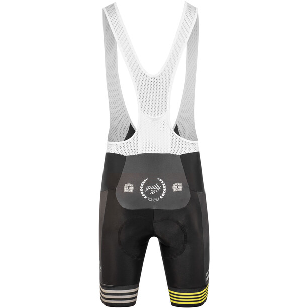 guilty 76 racing Velo Club Pro Race Trägershorts Damen black