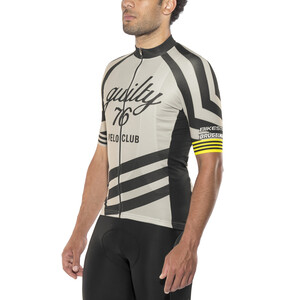 guilty 76 racing Velo Club Pro Race Jersey Herr grey grey