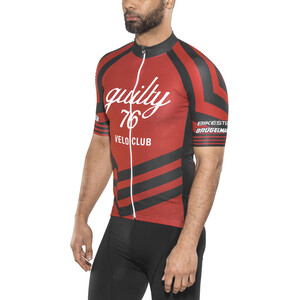 guilty 76 racing Velo Club Pro Race Trikot Herren red red