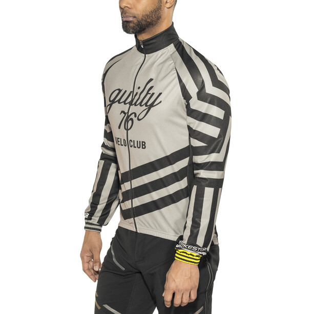 guilty 76 racing Velo Club Pro Race Veste Coupe-vent, grey
