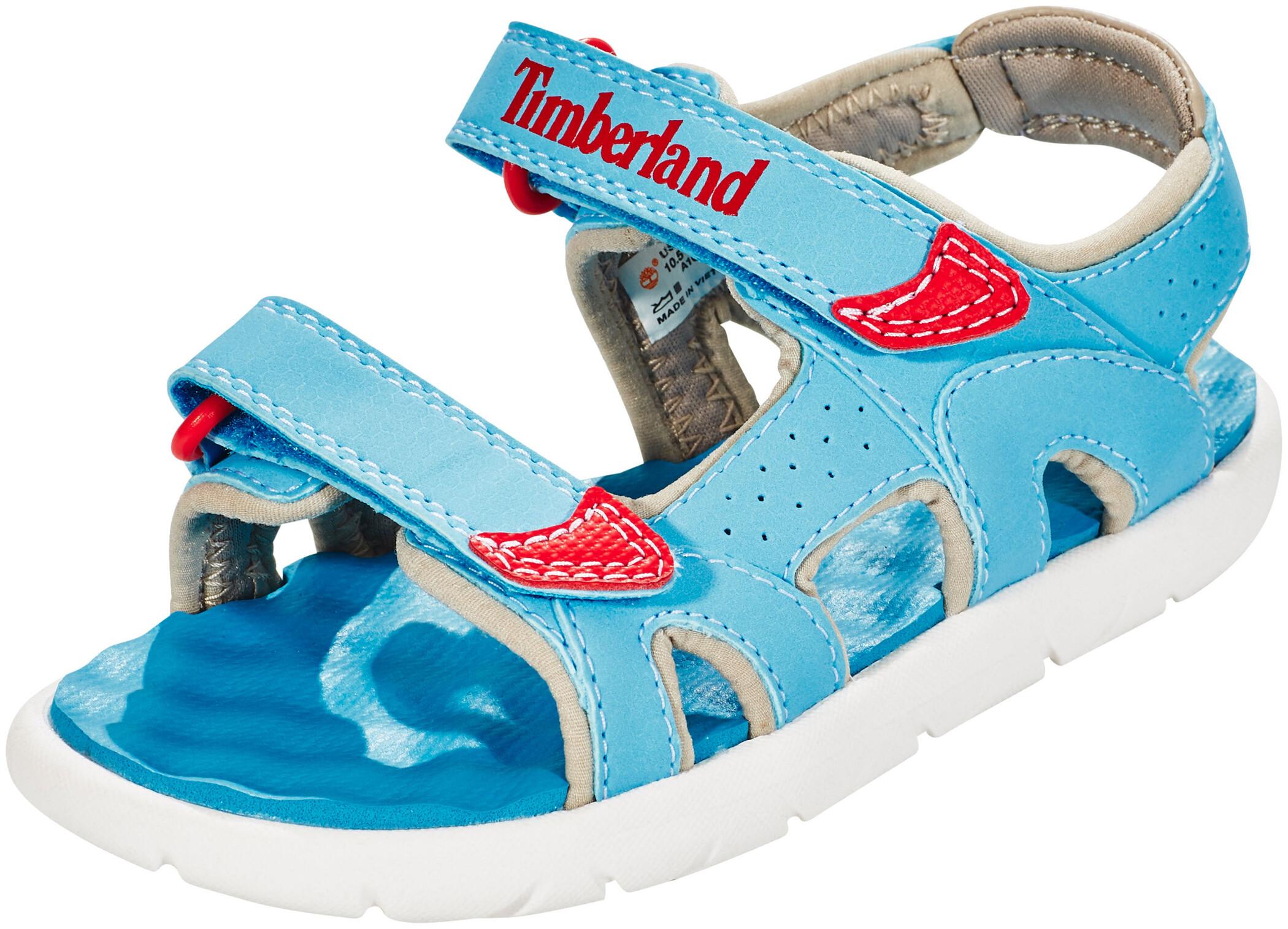 Kamik Kids Match Blau, Kinder Sandale, Größe EU 35 - Farbe Teal